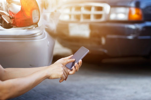 e-constat auto application smartphone