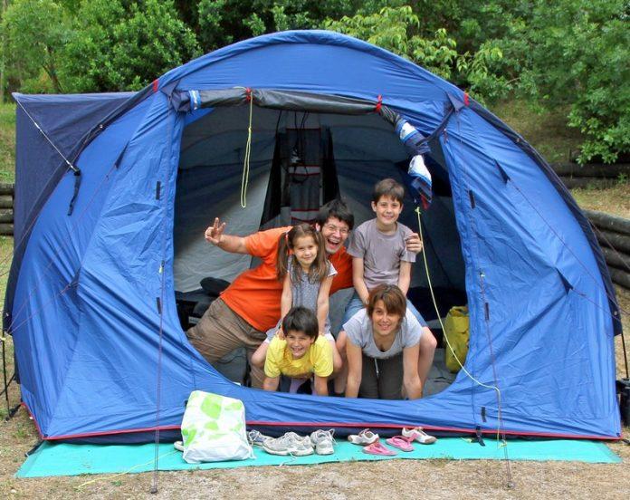 camping dans le Var